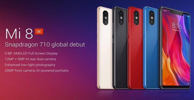 Xiaomi Launches Mi 8 SE