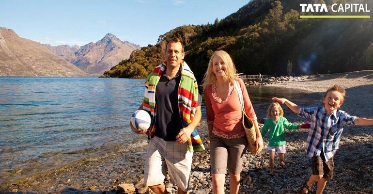 family vacation in New Zealand