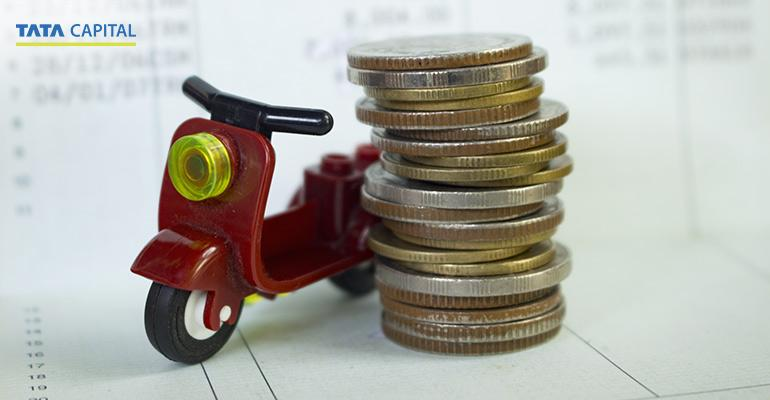 two wheeler loan on EMI