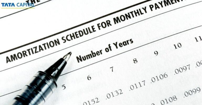 housing loan repayment schedule