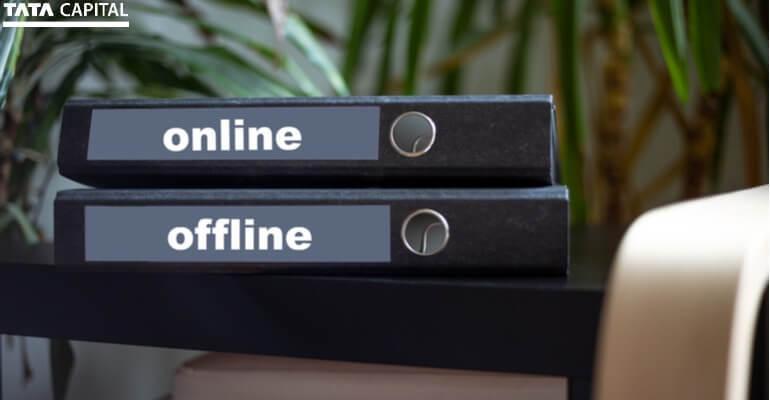 Offline Vs Online Home Loan Applications