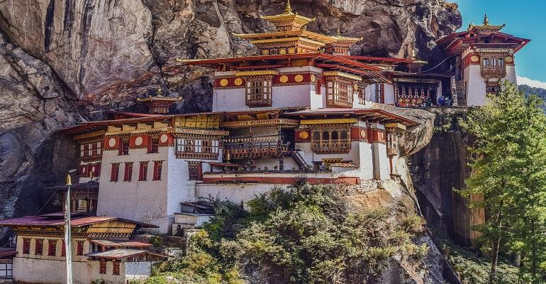 Buddhist Kingdom in the Himalayas